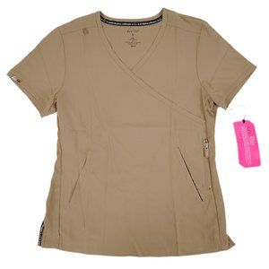Koi Scrub Top 316-123 Latte Small